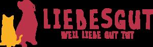 Logo Liebesgut Tiernahrung quer
